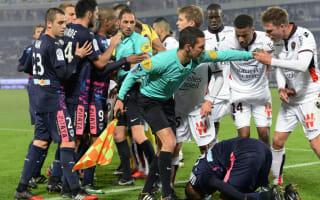 Bordeaux 0 Nice 0: Balotelli, Belhanda see red as Ligue 1 leaders slip up