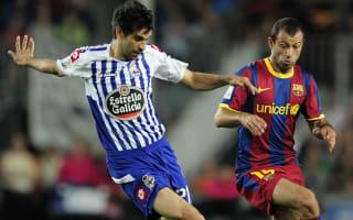 Deportivo great Valeron announces retirement