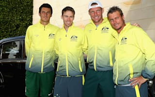 Hewitt replaces Kyrgios for Davis Cup