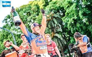 Motorcycle racer becomes first Brit to win Dakar