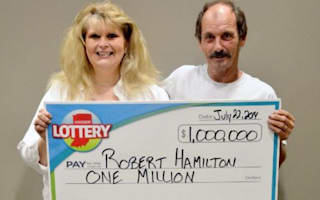 Man wins lottery twice in three months