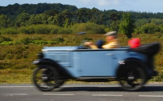 80-year-old Cornish car travels across America