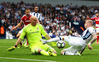 West Brom 0 Middlesbrough 0: Booed Berahino benched for dour draw