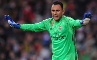 Navas ignoring speculation over future at Madrid
