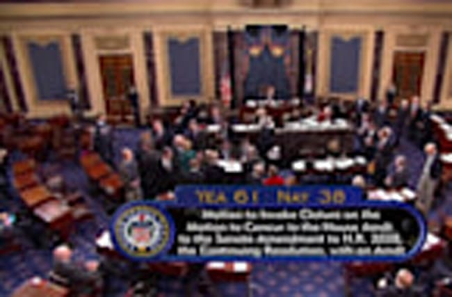 U.S. Senate passes funding bill