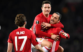 Manchester United 3 Saint-Etienne 0: Ibrahimovic hat-trick puts Mourinho's men in charge