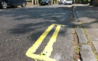 Parking madness: Are these the UK's shortest yellow lines?
