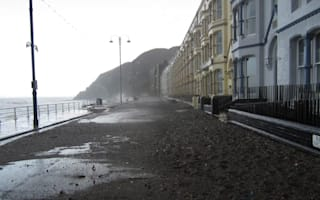 Storms reduce iconic British seafront to rubble