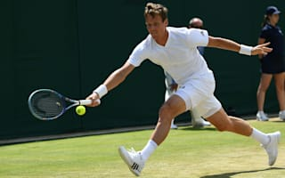 Berdych trumps Vesely in all-Czech one-set shootout
