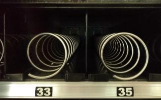 Building-sized vending machine deposits luxury cars