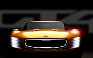 Kia unleashes GT4 Stinger concept