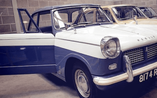 52-year-old car auctioned showing just 20 miles