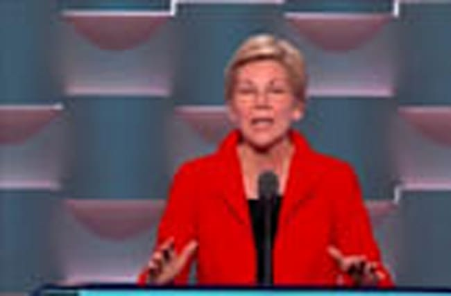 "Warren: ""I'm with Hillary"""