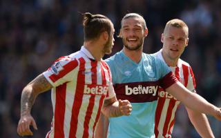 England hopeful Carroll injured at Stoke