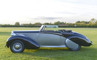 Daimler DB18 Drophead Coupe used by Churchill sold at auction