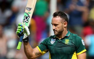 Du Plessis outguns Tharanaga in entertaining Newlands ODI
