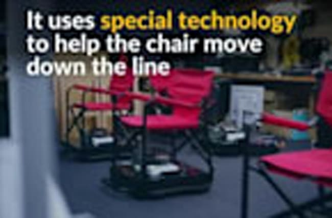 Nissan creates chair to break up queue fatigue