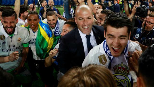 Merci Zizou - Ronaldo thanks Zidane for LaLiga title