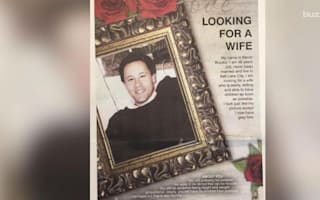 Father places full page ad seeking wife for 48-year-old son