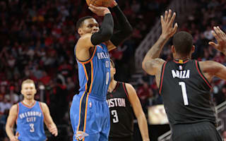 Westbrook stars in Thunder loss, Spurs cruise