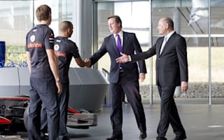 New McLaren Production Centre opened by David Cameron