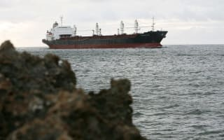 Large ship disappears in the South Atlantic