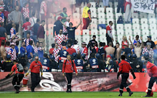 Croatia coach slams 'sports terrorists'