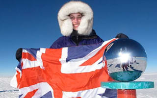 Brit explorer's daughter becomes youngest person to ski to South Pole