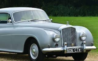 Rare Bentley Fastback heading to auction