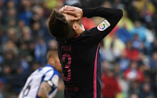 Pique: I would have signed up for Deportivo defeat