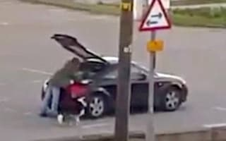 Newquay beggar spotted driving away in Audi sports car