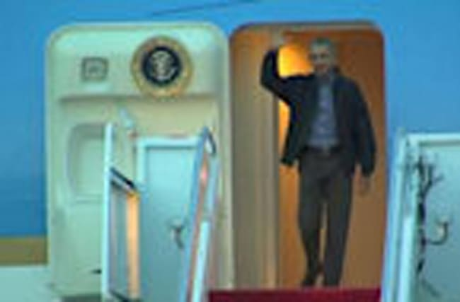 Obama arrives in U.S. after historic Asia trip