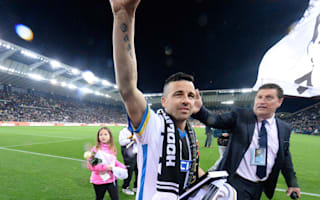 Di Natale 'cried like a baby' during final game