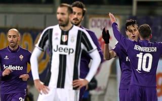 Fiorentina 2 Juventus 1: Brilliant Viola breathe life into Serie A title race