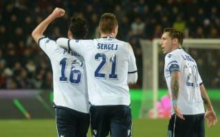 Sparta Prague 1 Lazio 1: Parolo away goal puts Serie A side in control
