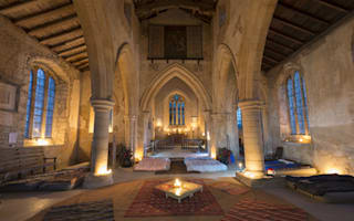 Church camping (champing): Britain's new craze - and it's more fun than glamping
