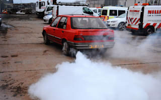 Smokey and the convict! Driver pulls 007-style tactic on police