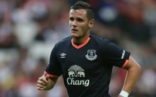 Frankfurt take on Everton youngster Tarashaj