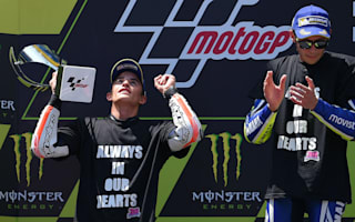 Rossi and Marquez dedicate Catalan race to Salom