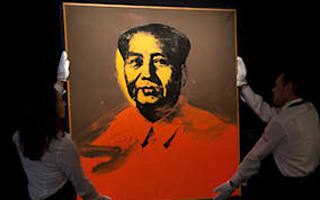 Warhol's Mao sells for  £7.6 million