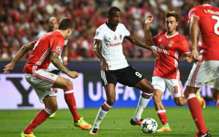 Benfica 1 Besiktas 1: On-loan Talisca denies parent club in stoppage time