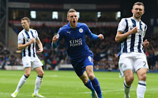 Vardy urged to 'finish on a high' after firing Leicester to brink of safety