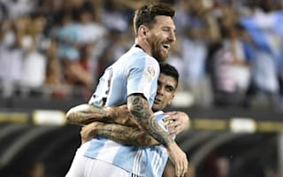Hat-trick hero Messi happy to be back