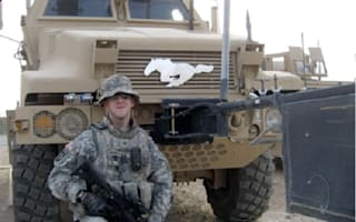 Soldier's essay from Iraq wins him Mustang