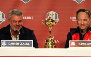 Ryder Cup 2016: Davis Love III v Darren Clarke