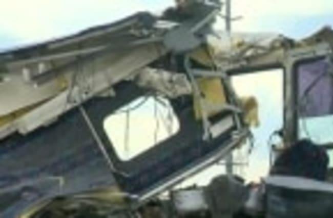 Investigators examine surveillance video for clues to California bus crash