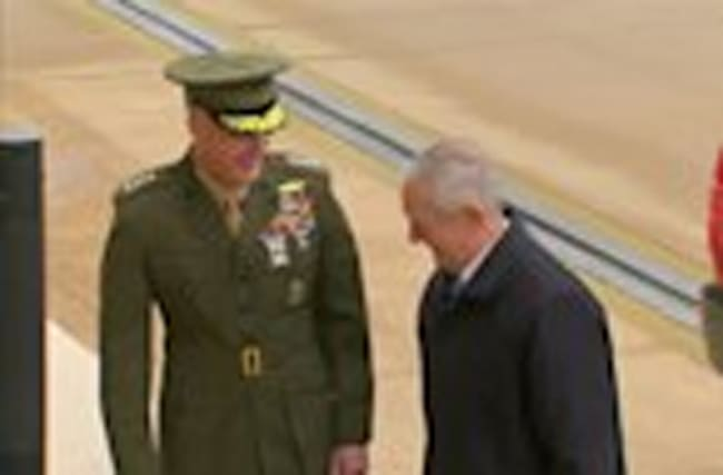 'Mad Dog' Mattis arrives at Pengaton