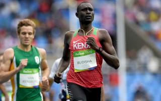 Rio 2016: Rudisha feels at the top of his game