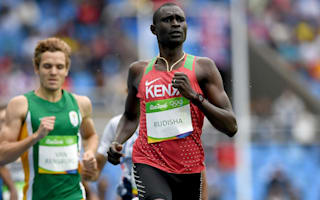 Rio 2016: Rudisha feels at the top of his game