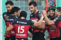 Toulon sneak past Clermont, Nadolo treble sinks Brive